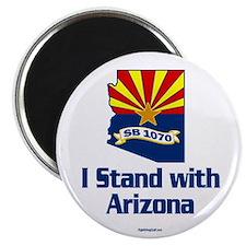 "SB1070 - I Stand With Arizona 2.25"" Magnet (10 pac"