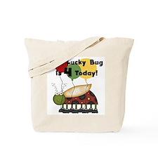 Lucky Bug 4th Birthday Tote Bag