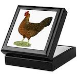 Welsummer Hen Keepsake Box