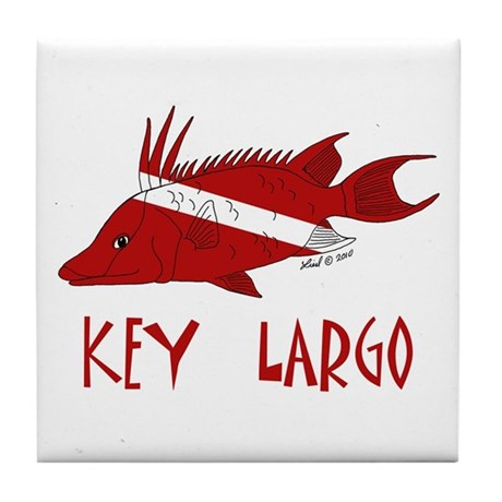 Key Largo Tile Coaster
