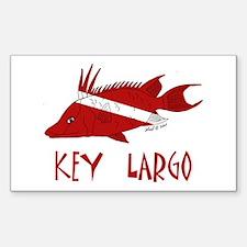 Key Largo Decal