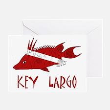 Key Largo Greeting Card