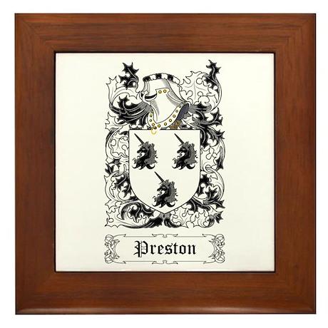 Preston Framed Tile