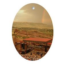 Unique Rainbow Ornament (Oval)