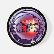 Eclipse Heat by Twibaby.com Wall Clock