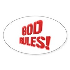 God Rules! Decal