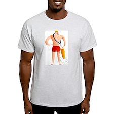 Lifeguard Ash Grey T-Shirt