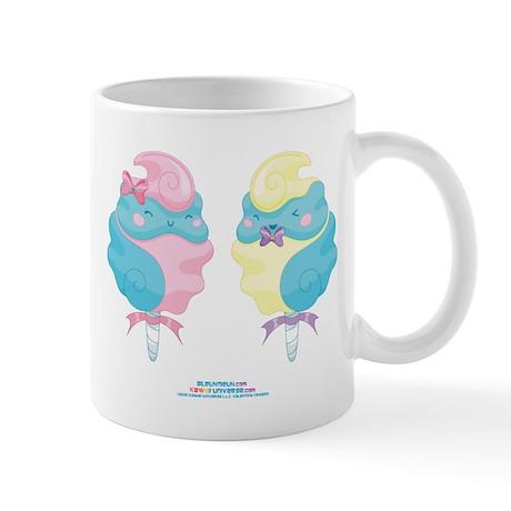 Kawaii Cotton Candy Couple Mug