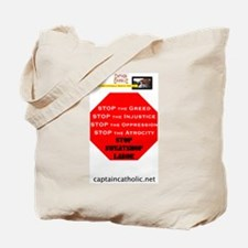 'Stop Sweatshop Labor' #2 Tote Bag