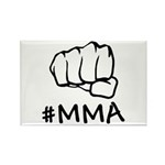 #MMA Rectangle Magnet (10 pack)