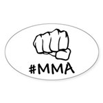 #MMA Sticker (Oval 10 pk)