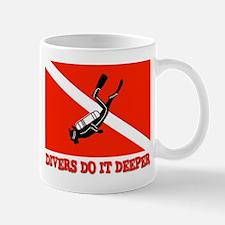 Divers Do It Deeper Mug