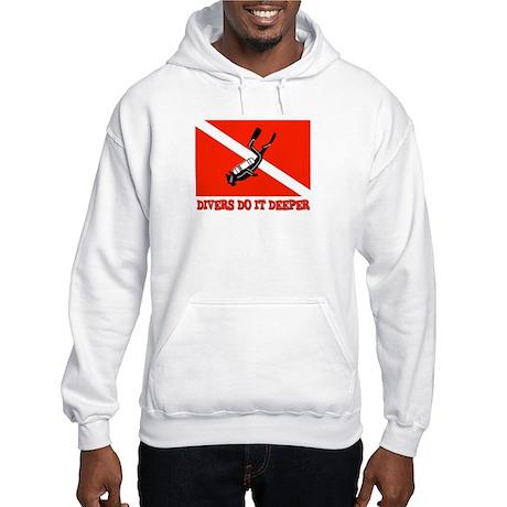 Divers Do It Deeper Hooded Sweatshirt