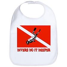 Divers Do It Deeper Bib