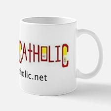 'CAPTAIN CATHOLIC' Logo (Horizontal) Mug