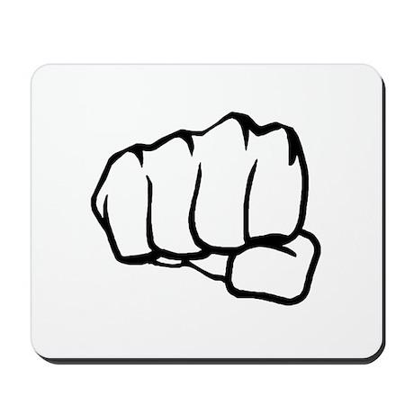 MMA Fist Mousepad