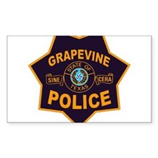 Grapevine Police Decal