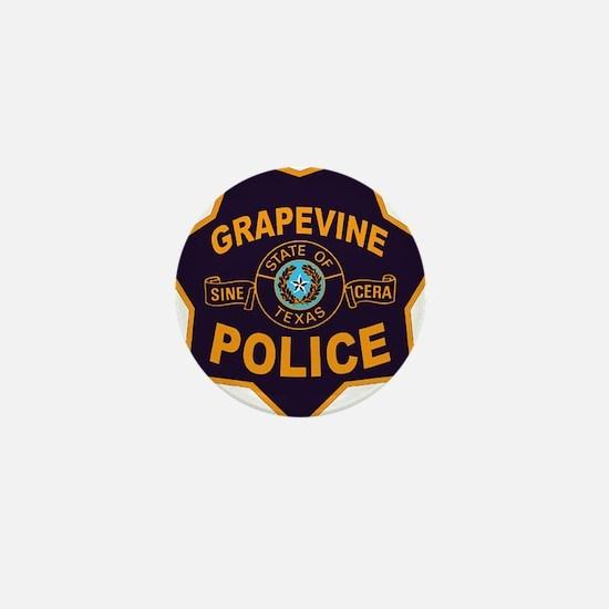 Grapevine Police Mini Button