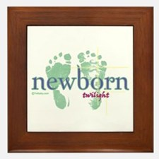 Twilight Newborn from Twibaby.com Framed Tile