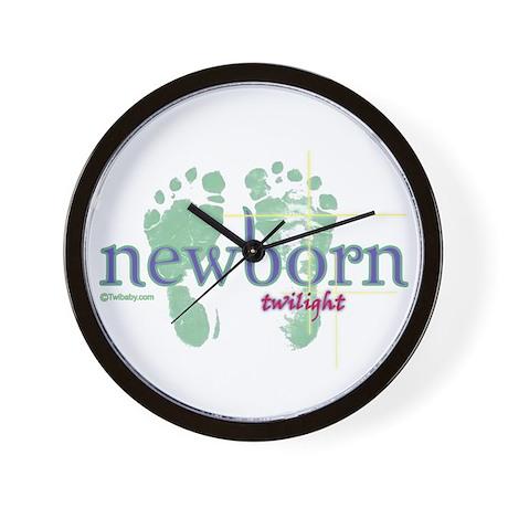 Twilight Newborn from Twibaby.com Wall Clock
