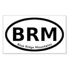 Blue Ridge Mountains Euro Decal
