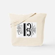 Cute C clef Tote Bag