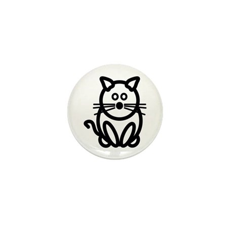 Just The Cat Mini Button
