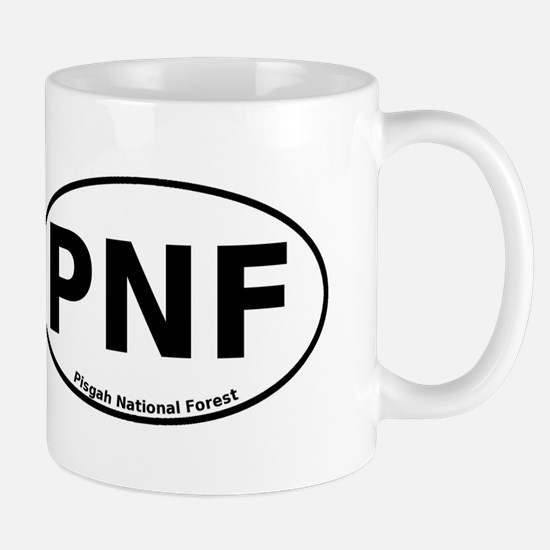 Pisgah National Forest Euro Mug