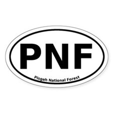 Pisgah National Forest Euro Decal