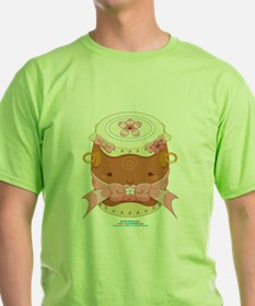 Kawaii Female Taiko Drum T-Shirt