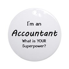 i'm an accountant Ornament (Round)