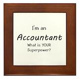 Accountant Framed Tiles