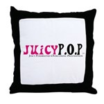 JuicyP.O.P Throw Pillow