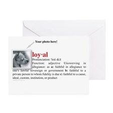 Definition of Loyal Greeting Cards (Pk of 10)