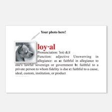 Definition of Loyal Postcards (Package of 8)