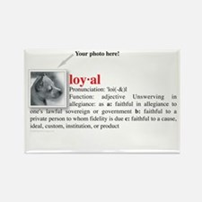 Definition of Loyal Rectangle Magnet