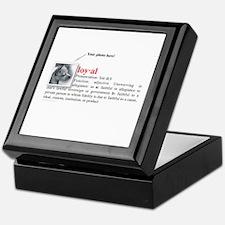Definition of Loyal Keepsake Box