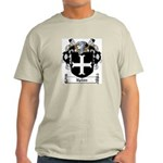 Upton Family Crest Ash Grey T-Shirt