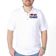 I love (heart) my Seabee T-Shirt