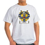 Turner Family Crest Ash Grey T-Shirt