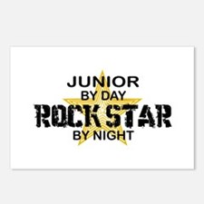 Junior Rock Star by Night Postcards (Package of 8)