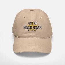Junior Rock Star by Night Baseball Baseball Cap