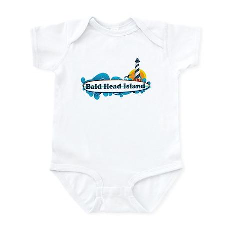 Bald Head Island NC - Surf Design Infant Bodysuit