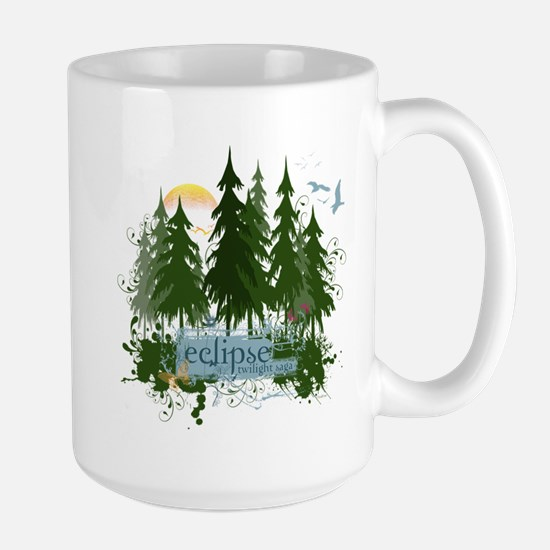 Twilight Eclipse by UTeezSF.com Large Mug