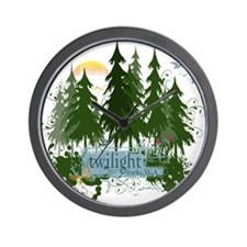 Twilight Forks WA Wall Clock