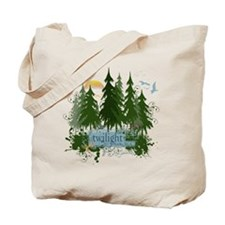 Twilight Forks WA Tote Bag