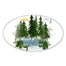 Twilight Forks WA Decal