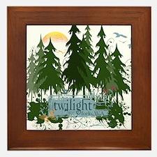Twilight Forks WA Framed Tile