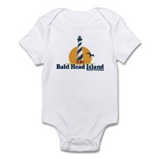 Bald Head Island NC - Lighthouse Design Onesie