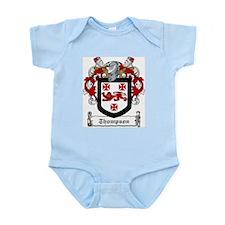 Irish Thompson Family Crest Infant Creeper